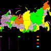 Число профицитных регионов России за последние три года росло и сегодня вернулось к докризисному уровню.