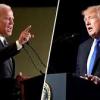 Трамп и Байден в предвыборных дебатах.